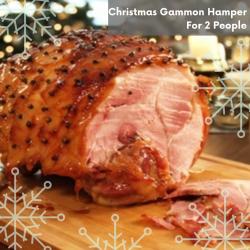 CHRISTMAS GAMMON HAMPER (2 PEOPLE)