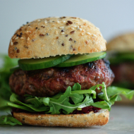 4x 4oz Lamb & Mint Burgers
