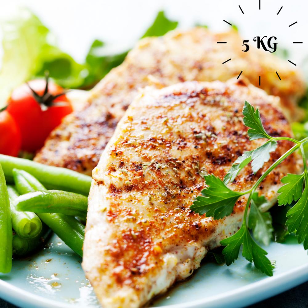 5kg Premium Chicken Breast Pack