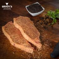 6 x 6oz Sirloin Steaks (Peppered or Plain)