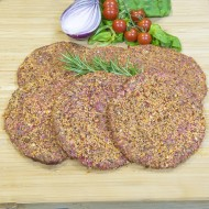 Peppered Steak Burger 6oz