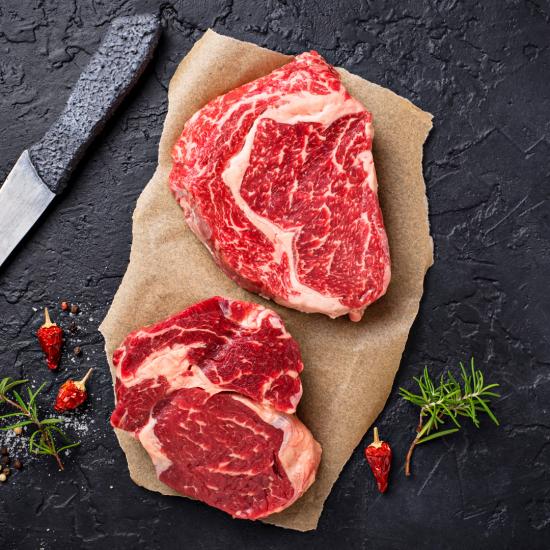 4x 8oz Ribeye Steaks