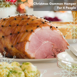 CHRISTMAS GAMMON HAMPER (4 PEOPLE)