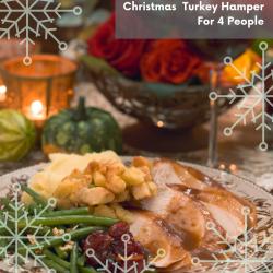 CHRISTMAS TURKEY HAMPER  ( 4 PEOPLE)