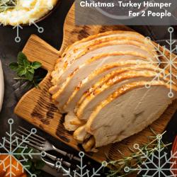 CHRISTMAS TURKEY HAMPER  ( 2 PEOPLE)