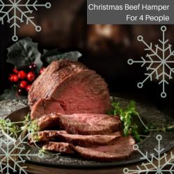 CHRISTMAS BEEF HAMPER ( 4 PEOPLE)